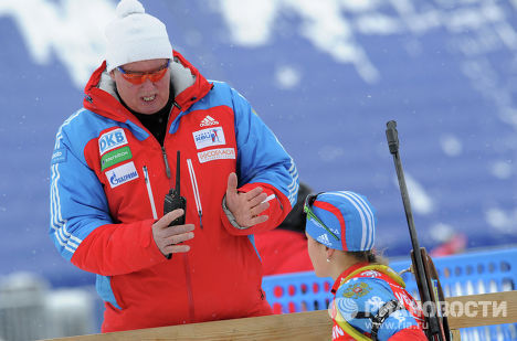 Старший тренер российской женской сборной Вольфганг Пихлер
