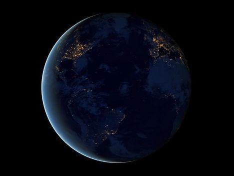 Ночной снимок Земли