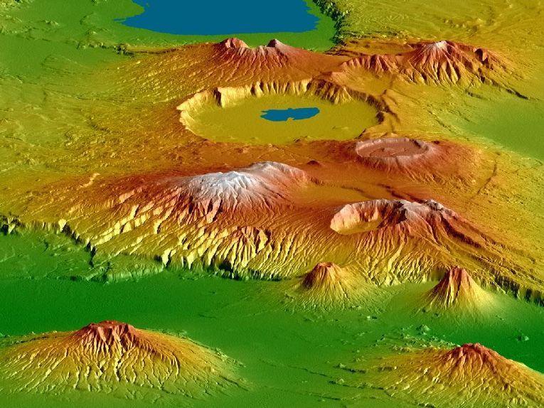 Нгоронгоро — огромный кратер в Танзании