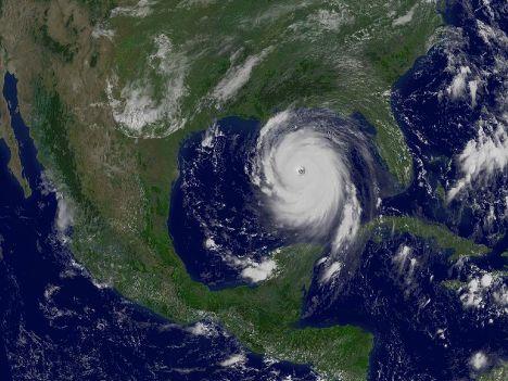 Ураган «Катрина» в Персидском заливе
