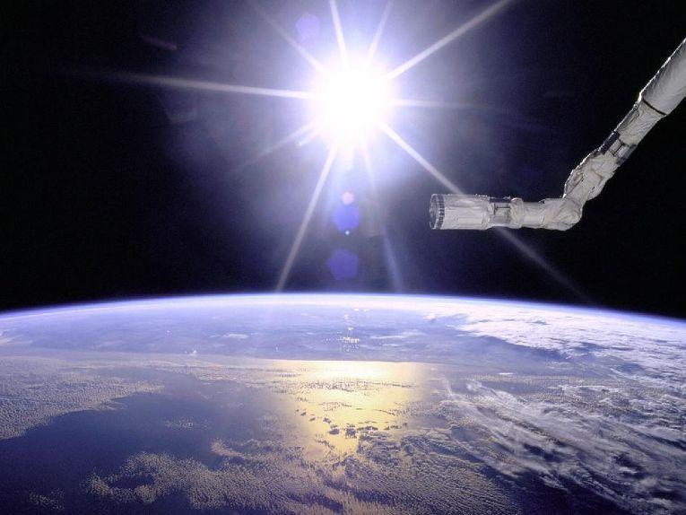 Манипулятор космического челнока Endeavour