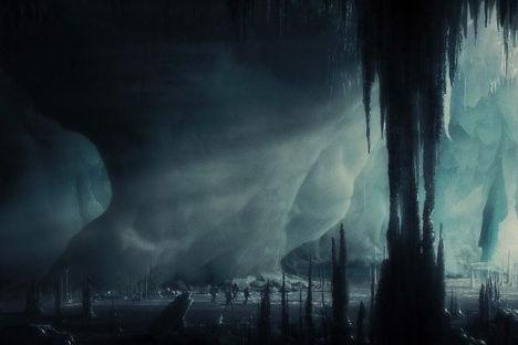 Кадр из фильма «Хребты Безумия»