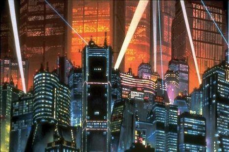 Кадр из аниме «Акира»