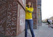 Мемориальная стена в Бостоне