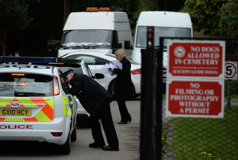 Похороны бизнесмена Бориса Березовского в Великобритании