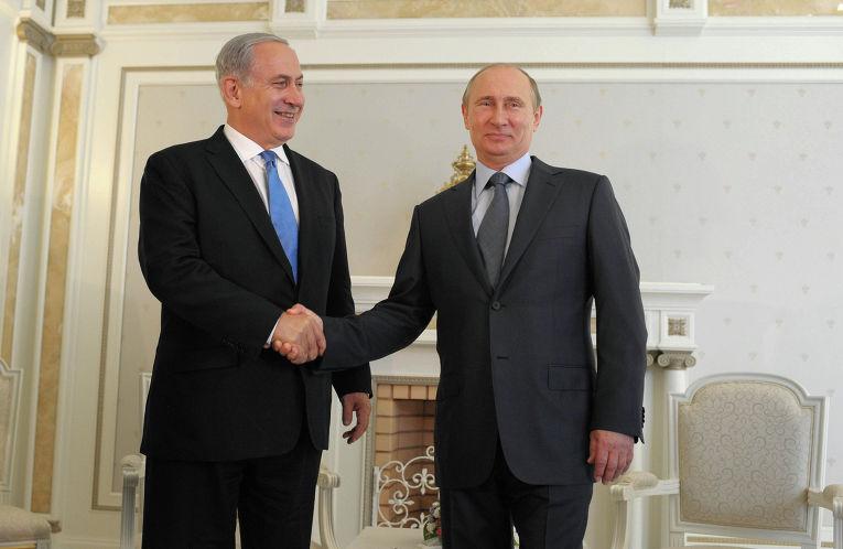Встреча Владимира Путина и Биньямина Нетаньяху в Сочи