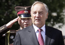 Инаугурация избранного президента Латвии Андриса Берзиньша
