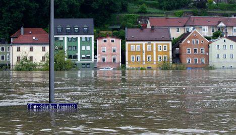 Наводнение в Пассау, Германия