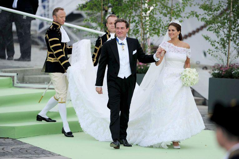 Свадьба шведской принцессы Мадлен и американского финансиста Кристофера О'Нила