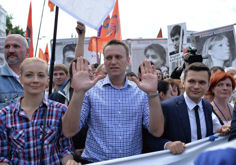 Оппозиция россия в лицах