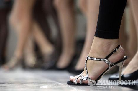"""Туфелька участницы национального конкурса """"Мисс Россия 2010"""""""