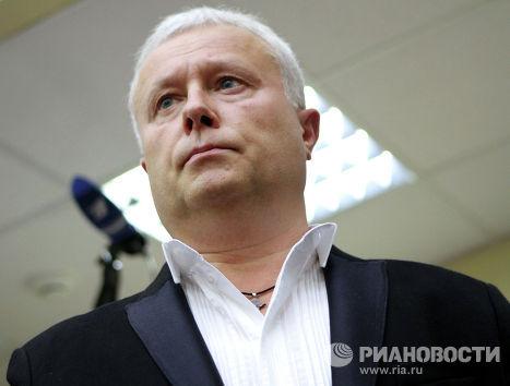 Бизнесмен Александр Лебедев во время оглашения приговора