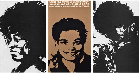 Плакаты с изображением Анджелы Дэвис