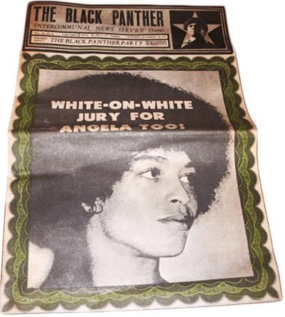 Выпуск газеты «The Black Panther»