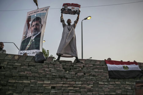 Сторонники свергнутого президента Мухаммеда Мурси