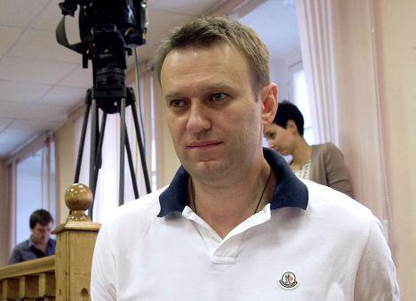 Алексей Навальный на заседании Ленинского районного суда города Кирова