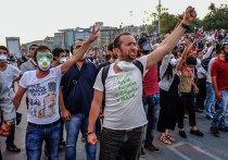 Массовые протесты в Стамбуле