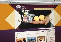 Скриншот страницы сайта фестиваля «Золотой абрикос»