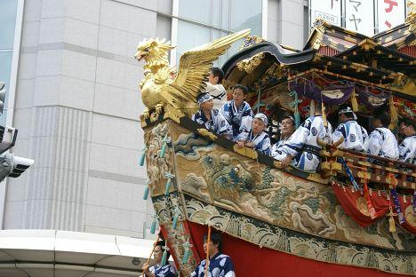 Фестиваль Гион в Киото