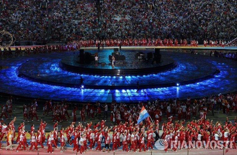 Церемония закрытия XXVII Всемирной летней Универсиады 2013