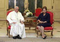 Папа Римский Франциск и Дилма Русеф