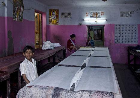 Текстильная фабрика в Индии