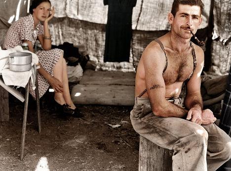 Снимок американского фотографа и фотожурналиста Доротеи Ланж