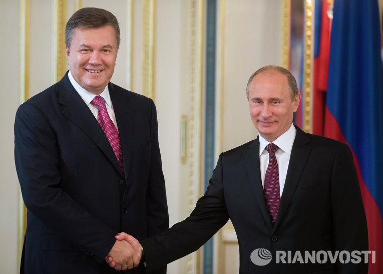 Визит президента России В.Путина в Киев