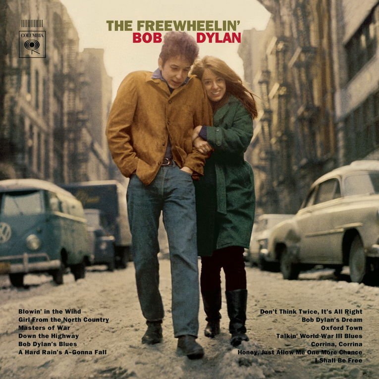 Альбом «The Freewheelin' Bob Dylan» Боба Дилана