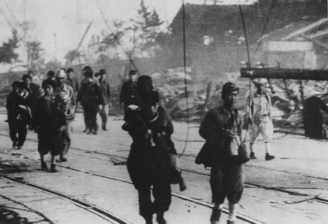 Выжившие после атомной бомбардировки Нагасаки