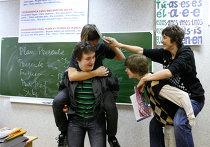 Занятия в школе с углубленным изучением иностранных языков