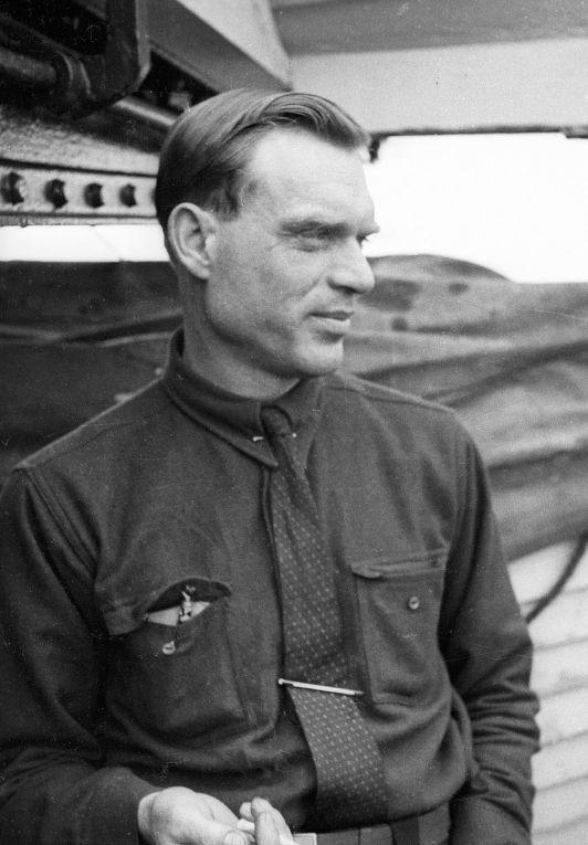 Герой Советского Союза летчик Сигизмунд Леваневский