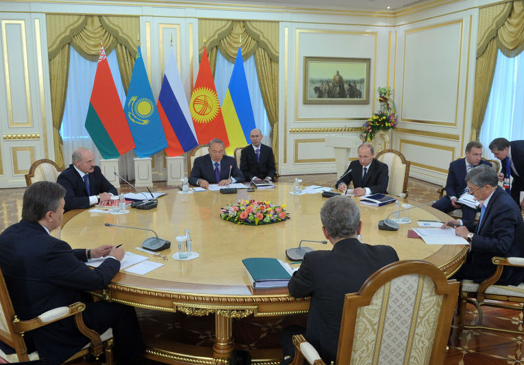 Заседание Высшего Евразийского экономического совета (ВЕЭС) – высшего органа Таможенного союза и Единого экономического пространства России, Белоруссии и Казахстана