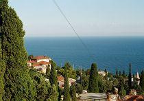Поселок Симеиз в Крыму