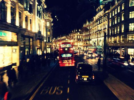 Риджент стрит в Лондоне