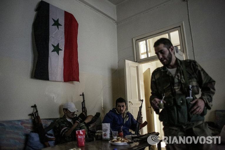 Ситуация в сирийском городе Маалюла