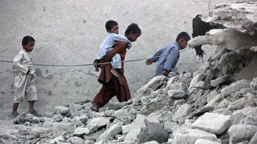 Последствия землетрясения в Пакистане