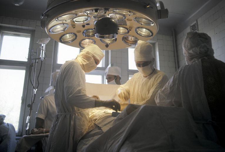 В операционной второй городской больницы