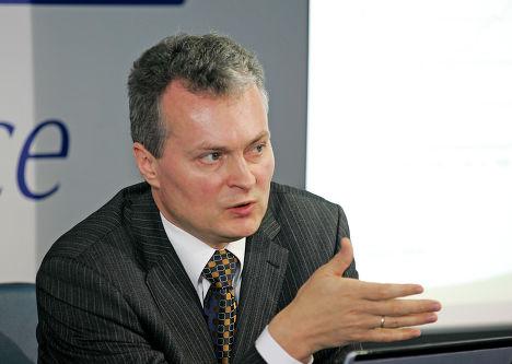 Советник президента банка SEB Гитанас Науседа