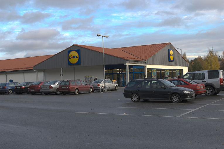 Lidl, польский гипермаркет