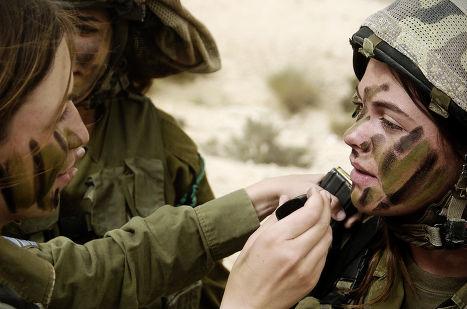 Женщины в израильской армии