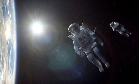 Кадр из фильма «Гравитация»