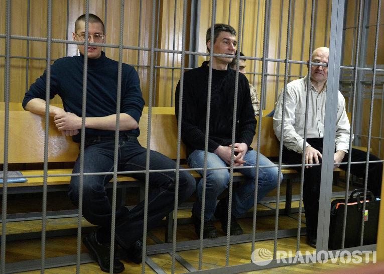 Слушания по делу о беспорядках на Болотной площади 6 мая 2012 г