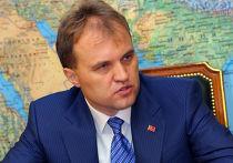 Глава Приднестровской Молдавской республики (ПМР) Евгений Шевчук