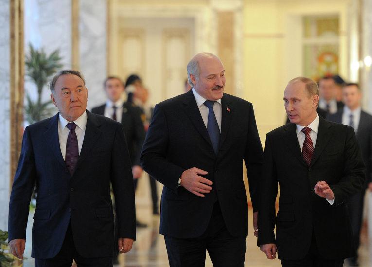 Рабочий визит В.Путина в Белоруссию
