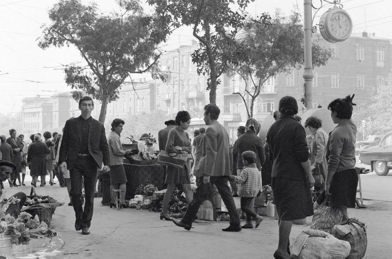 На улицах Еревана
