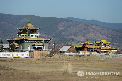 Иволгинский дацан - буддийский монастырский комплекс, центр Буддийской традиционной Сангхи России