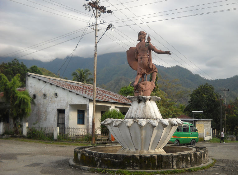 Португальская статуя, Восточный Тимор