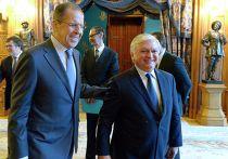 Встреча глав МИД России и Армении С.Лаврова и Э.Налбандяна