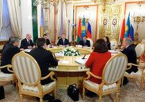 Заседание глав государств стран-участниц Таможенного союза